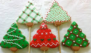 Produce Christmas Tree Cookies Decorations Such As