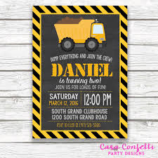 Construction Birthday Invitation, Construction Invitation, Dump ... Dump Truck Baby Shower Invitation Hitachi Eh5000 Aciii Gold 187 Trucks Pinterest Cstruction And Tiaras Sibling Birthday Invitations Printed Invites Heavy Equipment Free Christmas Templates New Party Images Of Garbage Design Lovely Invite Digital Clipart Truck Cement Bulldoser Perfect Mold Card Printable Diy Boy Mama A Trashy Celebration Day The Dead Cam Newton In Car Crash With