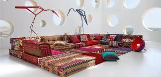 100 Roche Bobois Sofa Bed MAH JONG COMPOSITION Missoni Home