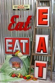 Best 25 Eat Sign Ideas On Pinterest