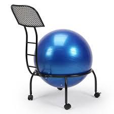 chaise ballon chaise avec ballon roulettes pour balance équilibre fitness