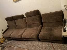 sofa 3 sitzer sessel retro