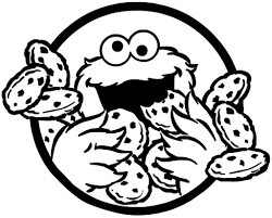 Cookie Monster Coloring Pages Kids For Page