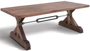 casa padrino industrial design esstisch verschiedene farben größen massivholz küchentisch im industrie stil esszimmer möbel