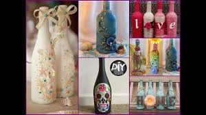 Decorative Wine Bottles Diy by 70 Wine Bottles Decor Ideas Diy Room Decor Using Recycled Glass