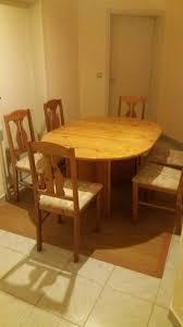 esszimmer gruppe ausziehbarer tisch und 6 stühle küchentisch