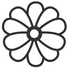 Interesting Large Flower Coloring Pages