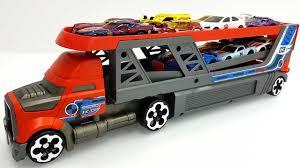 Mack Truck Hauler Launcher Hotwheels Truck Carry Case Toy Trucks For ...
