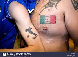 Tattoos Of Italy And Italian Flag