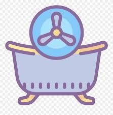 badezimmer ventilator icon bathtub clipart 3418130