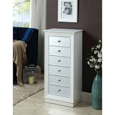 White Mirrored Jewelry Cabinet Armoire Canada by White Jewelry Armoire Clearance Leather Box Chest Mirror Canada