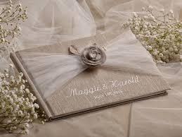 Shabby Chic Wedding Guest Book Idea