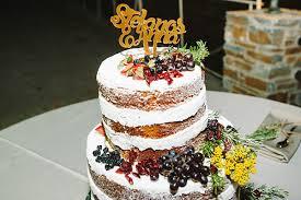 Naked Wedding Cake Fruit
