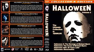 Halloween H20 20 Years Later by Halloween Collection Volume 2 Blu Ray Cover 1989 2002 R1 Custom