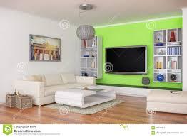 100 Loft 44 3d Luxury Modern Apartment Shot Stock