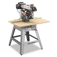 sears canada tile saw craftsman 3 hp 10 radial arm saw with lasertrac 22010