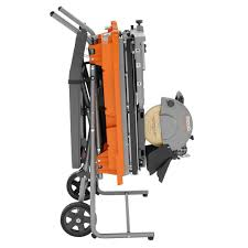 Ridgid Wet Tile Saw by Ridgid R4092 10 In Wet Tile Saw With Stand Vip Outlet