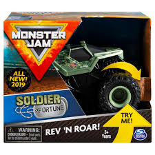 100 Monster Truck Crashes Spin Master Jam Jam Official Soldier Fortune Rev