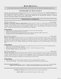 Retail Manager Resume Examples Template Auto Parts