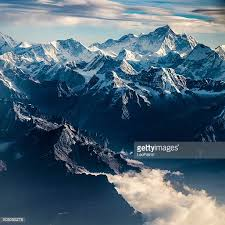 mountain ranges of himalayas himalayas stock photos and pictures getty images