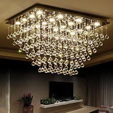 z moderne led klar k9 kristall kronleuchter wohnzimmer hängele rechteck design schlafzimmer halle kronleuchter leuchte len
