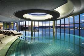 Crown Macau Taipa Island Hotel Has A Cool Indoor Swimming Pool
