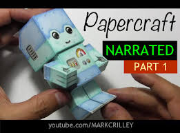 how to make a paper craft chibi robot part 1 youtube