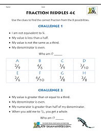 Halloween Multiplication Worksheets 5th Grade by Free Printable Fraction Worksheets Fraction Riddles Harder