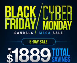 Black Friday And Cyber Monday Sandals Black Friday Cyber Monday Mega Sale 2016 Promo Code
