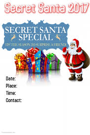 Customizable Design Templates for Secret Santa