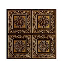 Styrofoam Direct Glue Up Ceiling Tile by 203 Faux Tin Ceiling Tile Talissa Decor