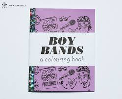Boy Bands A Mini Colouring Book By TeamArt On Etsy 1200