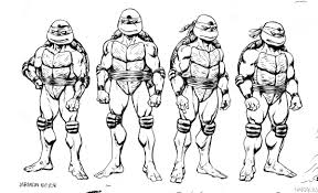 Ninja Turtles Free Coloring Pages