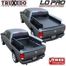 Roll Up Bed Cover by Truxedo Lo Pro Tonneau Roll Up Bed Cover For 09 17 Dodge Ram 1500