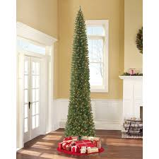 Holiday Time Pre Lit 12 Brinkley Pine Artificial Christmas Tree Clear Lights