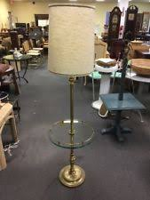 Stiffel Floor Lamp With Glass Table by Stiffel Brass Floor Lamps Ebay