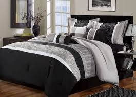 Bedroom Drop Gorgeous Black And White Modern Crib Bedding