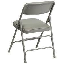 Kohls Metal Folding Chairs by Flash Furniture Ha Mc309av Gy Gg Gray Metal Folding Chair With 1