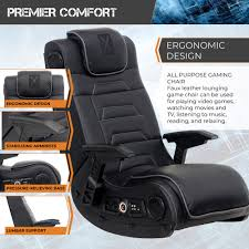 X Rocker Pro Series H3 Black Leather Vibrating Floor Video ... X Rocker Pro Series Video Gaming Chair With Wireless Pro Details About Pedestal 21 Audio Black Bluetooth Speakers Gamer Blue Xrocker Se Sound Transmission Rocking Deluxe 41 Luxury Fabric System And Subwoofer Grey 5172301 Rocker Gaming Chair Xrocker Vibe User Manual Ace Dac Infiniti Chairs Competitors Revenue Employees 51396 On Flipboard By Susan Mars Torque Nordic Game Supply