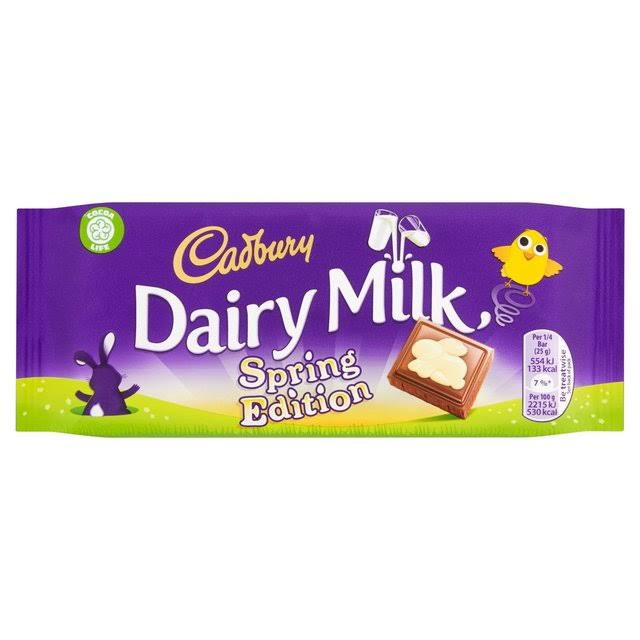 Cadbury Dairy Milk Chocolate Bar - 100g