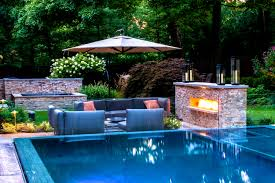 Furniture : Glamorous Backyard Pool Landscaping Ideas Pictures ... Decorating Attractive Above Ground Pool Deck For Enjoyable Home Good Picture Of Backyard Landscaping Decoration Using White Latest Ideas On Design Inspiring And 40 Uniquely Awesome Pools With Decks Pools Beautiful Oval Designs Gardens Geek Modern Image Solid Above Ground Pool Landscaping Ideas Swimming Spa Best And Emerson