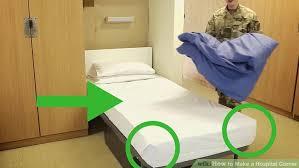 3 ways to make a hospital corner wikihow
