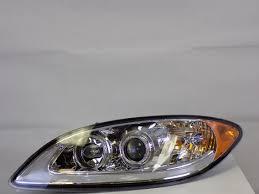 international prostar led headlight set with chrome housing in005