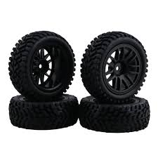 Buy RC 1:10 Wheel Rim Rubber Tyre Tires For Off-Road Vehicle Black ... Tireswheels Cars Trucks Hobbytown 110th Onroad Rc Car Rims Racing Grip Tire Sets 2pcs Yellow 12v Ride On Kids Remote Control Electric Battery Power 4 Pcs 110 Tires And Wheels 12mm Hex Rc Rally Off Road Louise Scuphill Short Course Truck How To Rit Dye Or Parts Club Youtube Scale 22 Alinum With Rock For Team Losi 22sct Review Driver Best Choice Products 112 24ghz R Mad Max 8 Spoke Giant Monster Tyres Set Black Mud Slingers Size 40 Series 38 Adventures Gmade Air Filled Widow Custom
