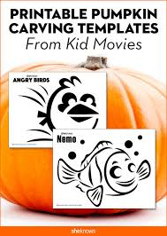 Minion Pumpkin Stencil Printable by These Cinematic Pumpkin Carving Templates Will Be A Huge Hit Page 7