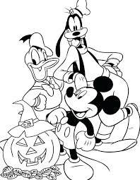 Free Printable Halloween Coloring Pages For Kindergarten And Activities Disney Pictures With Additional Colouring