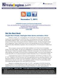 Despite New E-Reader, ValuEngine Rates Barnes And Noble A HOLD ... Amazoncom Barnes And Noble Nook Ebook Reader Wifi Only Black Sells More Ebooks Than Kobo October 2015 Apple Bn Google A Look At The Rest Of Bnrv200 8gb Color Wifi Ereader 7 Nook Simple Touch 2gb 6in Ebay Glowlight 3 Review Despite New Ereader Valuengine Rates Hold Clarifies Hdware Isnt Dead More Lower How To Copy Your Youtube Releasing This Week