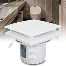 wandlüfter mit spritzwasser schutz kunststoff badlüfter 150