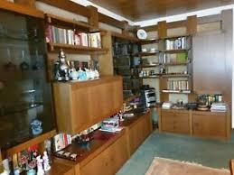schöne wohnzimmer schrankwand massiv holz kirschbaum l