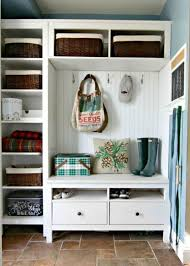ikea hemnes series could also be used for a hallway organization